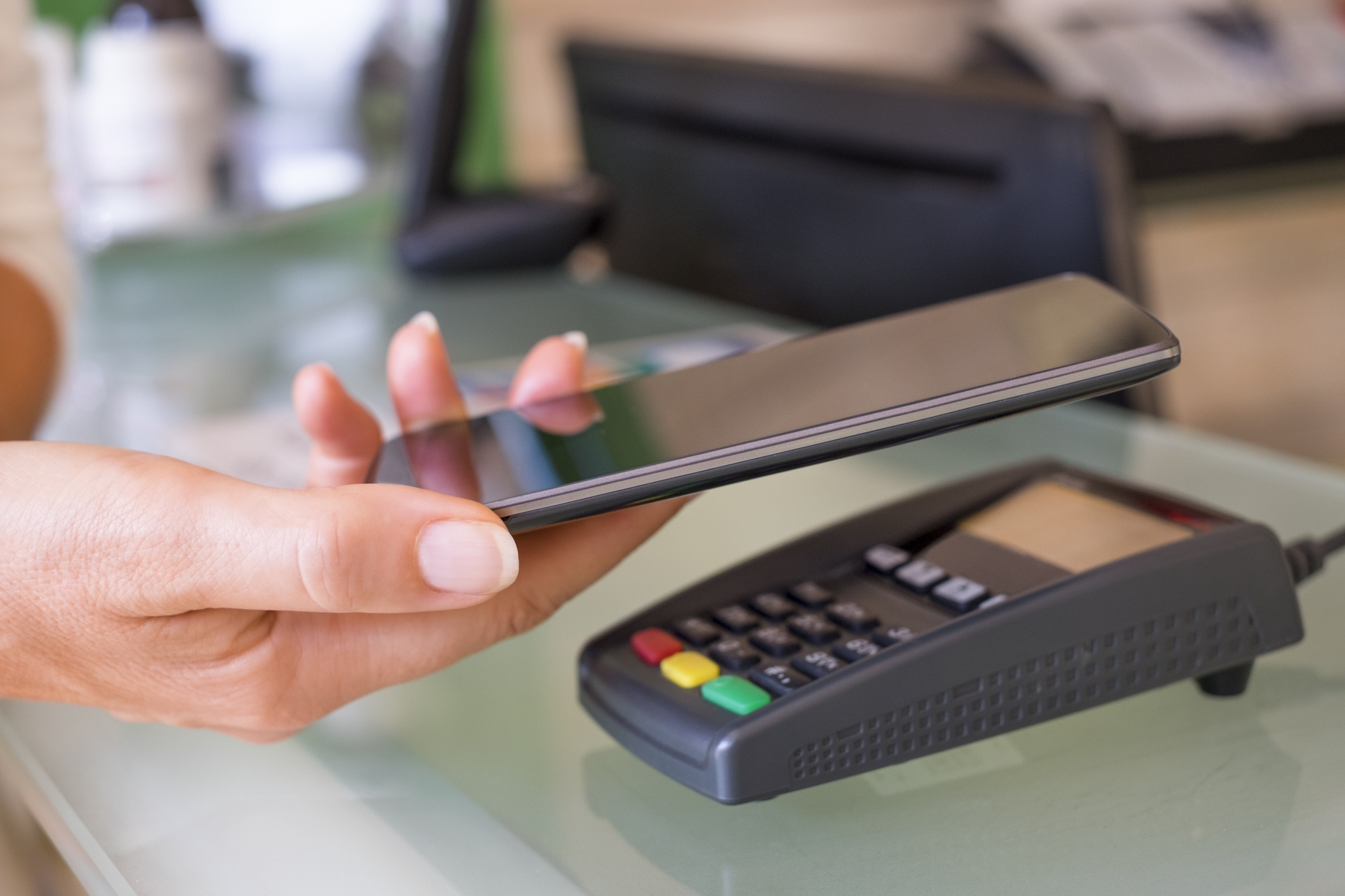 Retail Store Terminal   Phone Payment
