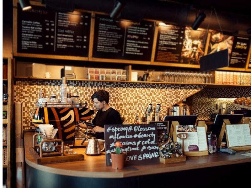 coffee shop payment processing