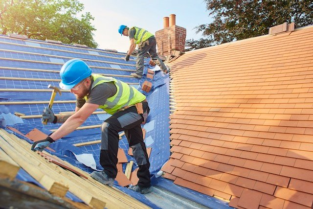 Roofing Construction Payment Processing
