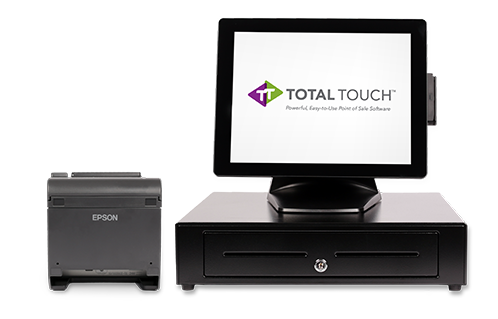 All-in-one POS system | Total Touch