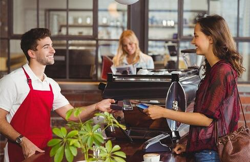 barista utilizing pos total touch software in north carolina