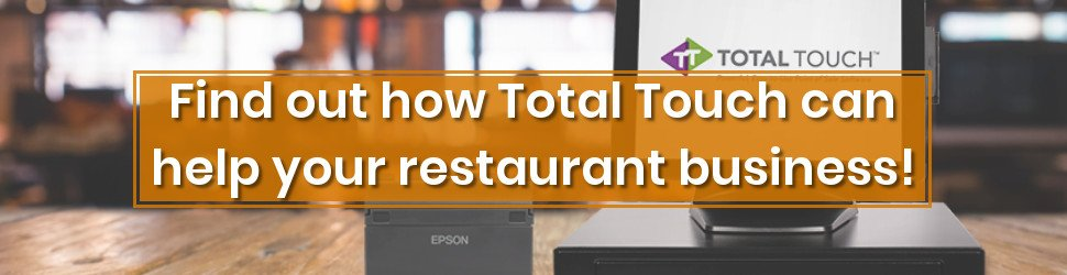 All-in-one point-of-sales system for restaurant | Total Touch