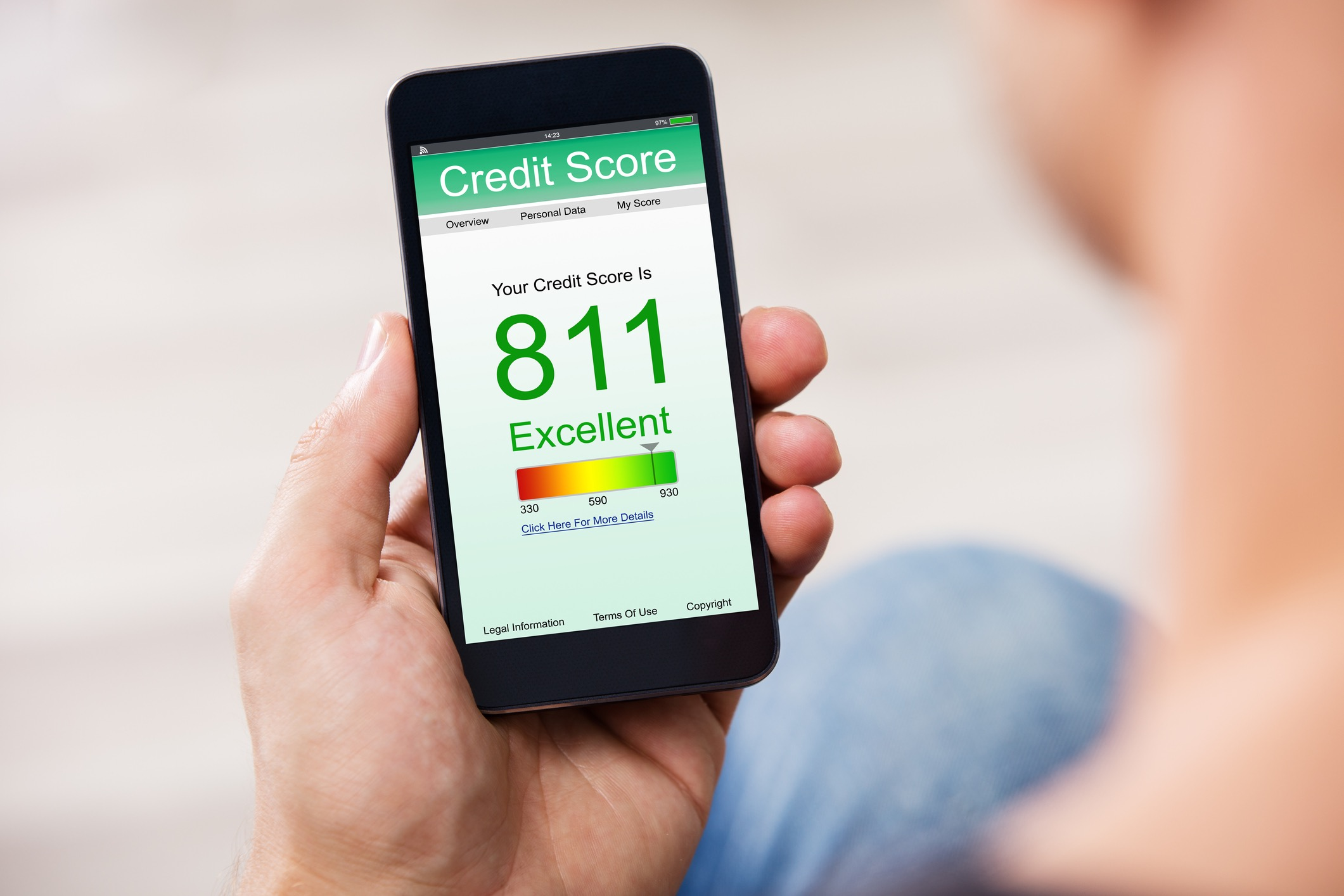 Will my credit score affect my business accepting credit cards?